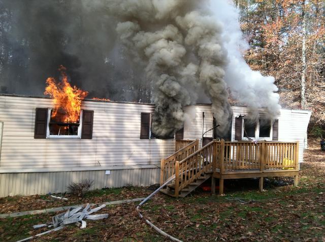 Mobile Home fire in New Market - Hughesville Fire & EMS