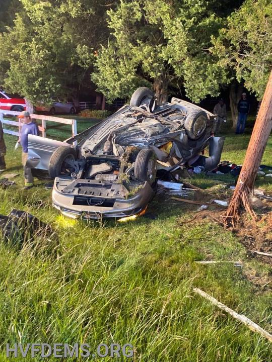 MVC Rollover in Bryantown